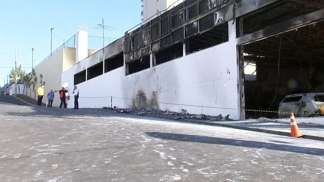 Polícia prende homem suspeito de atear fogo em concessionária de Araçatuba