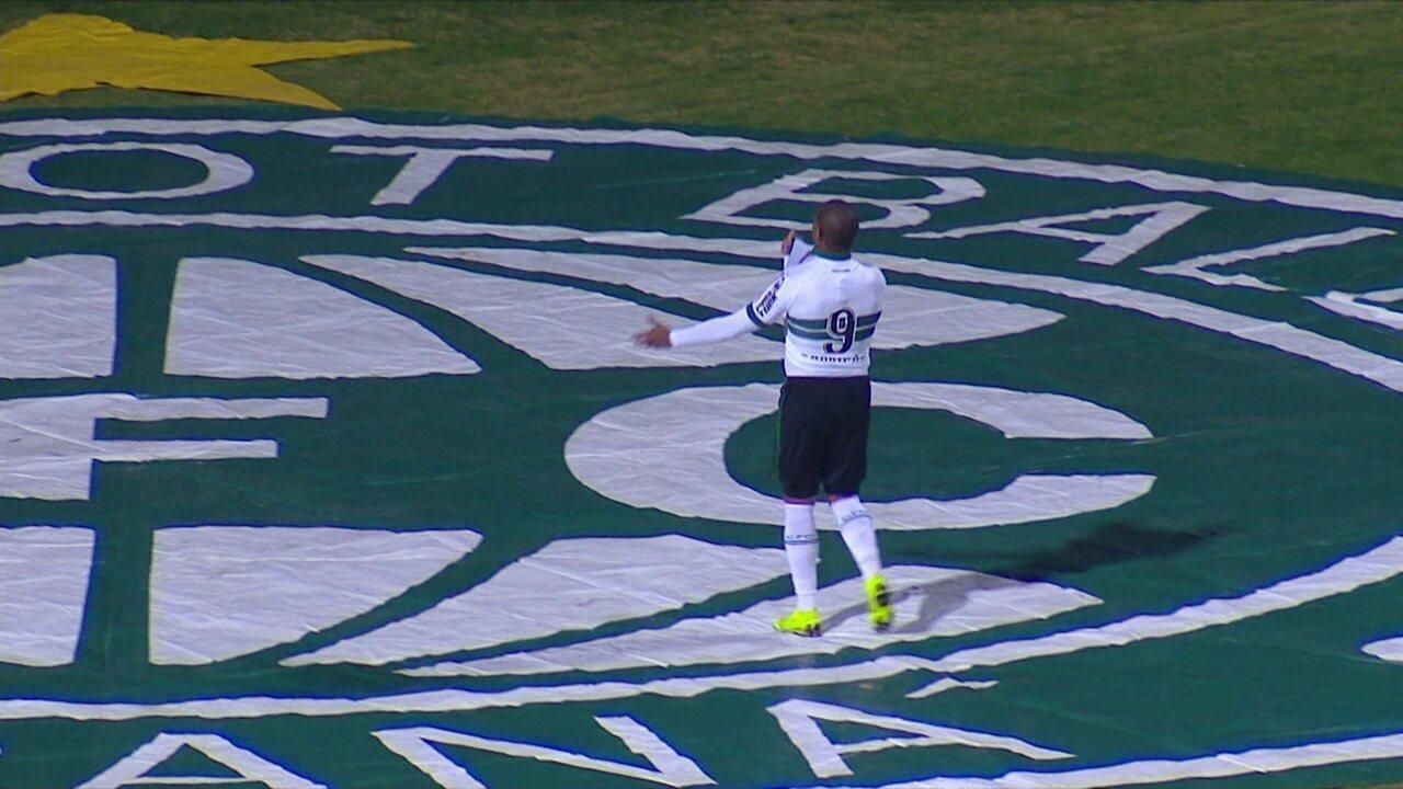 Os gols de Coritiba 2 x 1 São Bento pela 10ª rodada da Série B do Campeonato Brasileiro