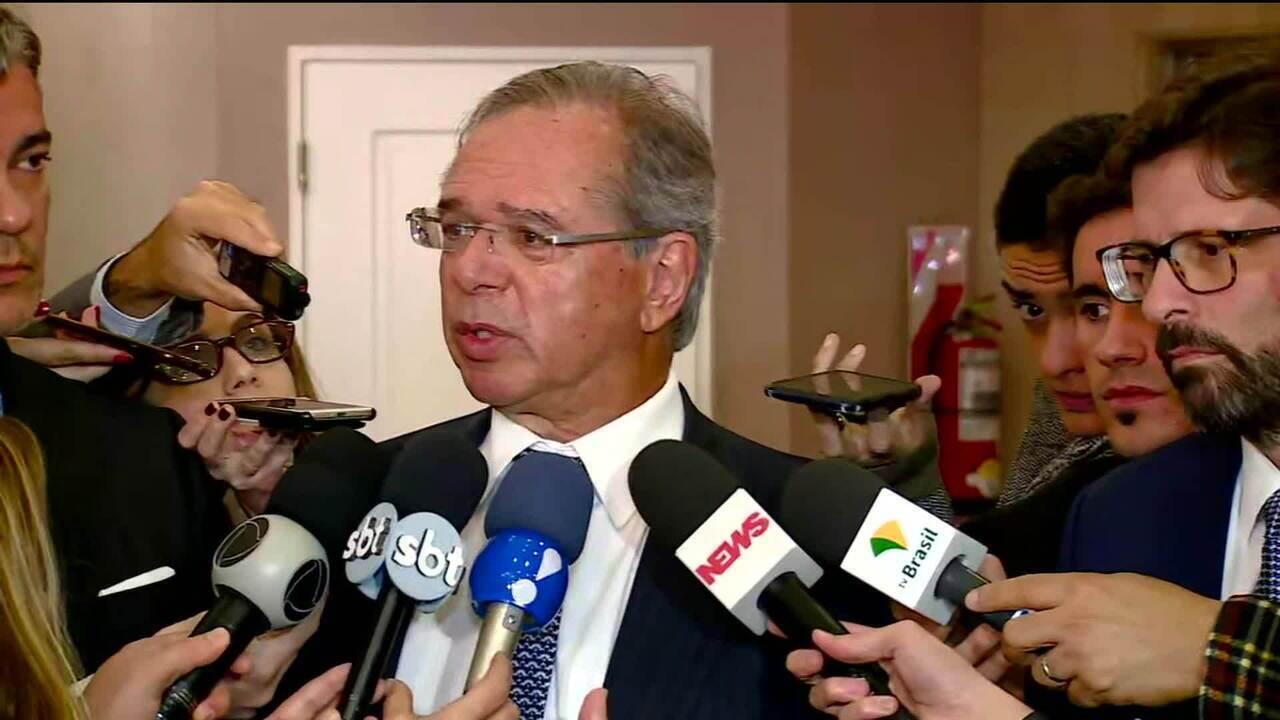 Paulo Guedes defende abertura da economia no Mercosul