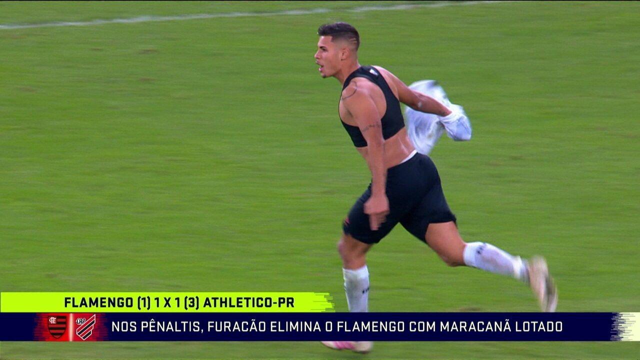 Analistas comentam classificação do Athletico-PR sobre o Flamengo em pleno Maracanã lotado