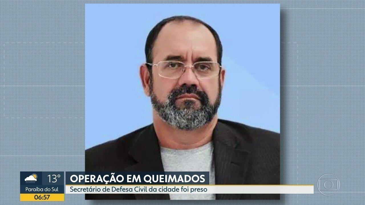 Vereador de Queimados é preso em operação do Ministério Público