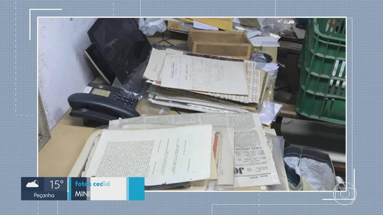 MP recupera documentos furtados do Arquivo Público Mineiro