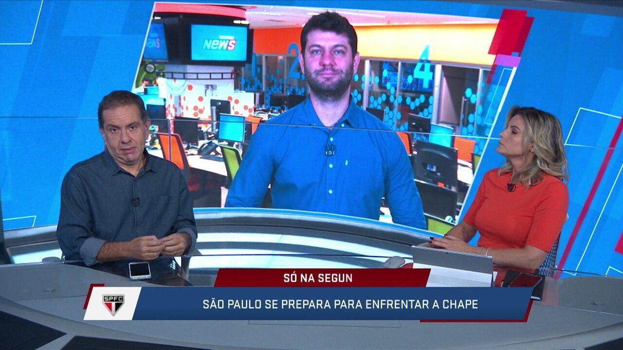 Gonzalez diz que Cuca está em dívida com a torcida do São Paulo