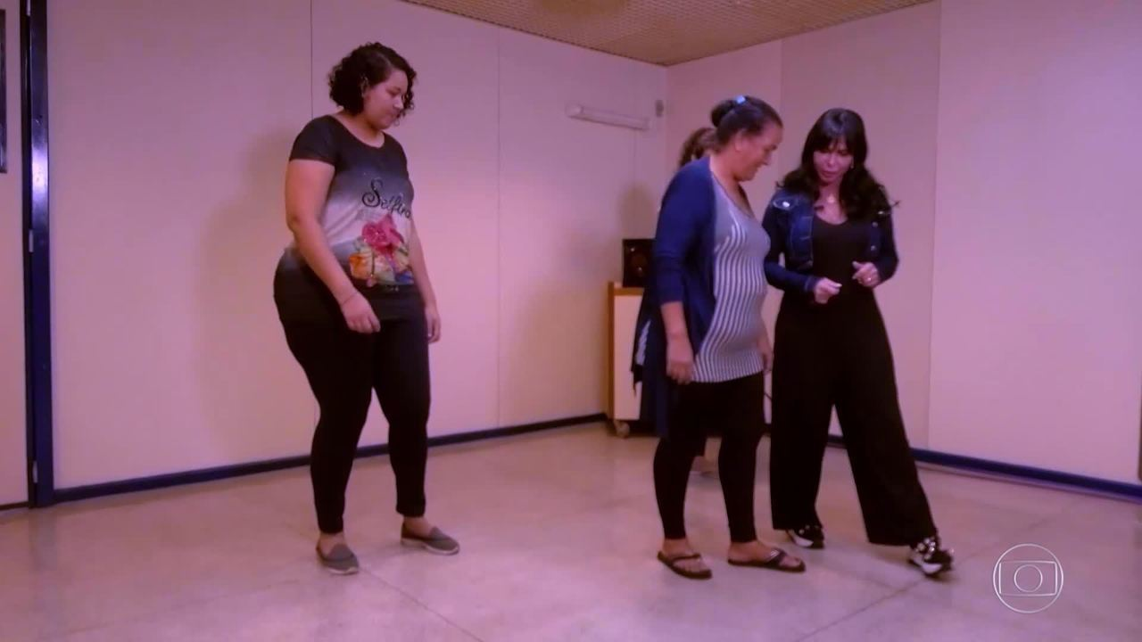 Sueli começa os ensaios para apresentação no 'Lata Velha'