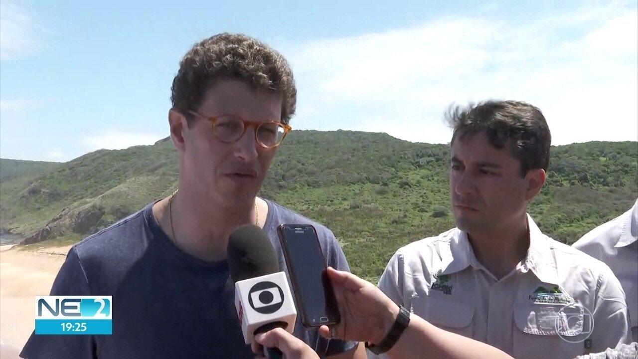 Ministro diz que valor da taxa de acesso a parque de Noronha terá avaliação