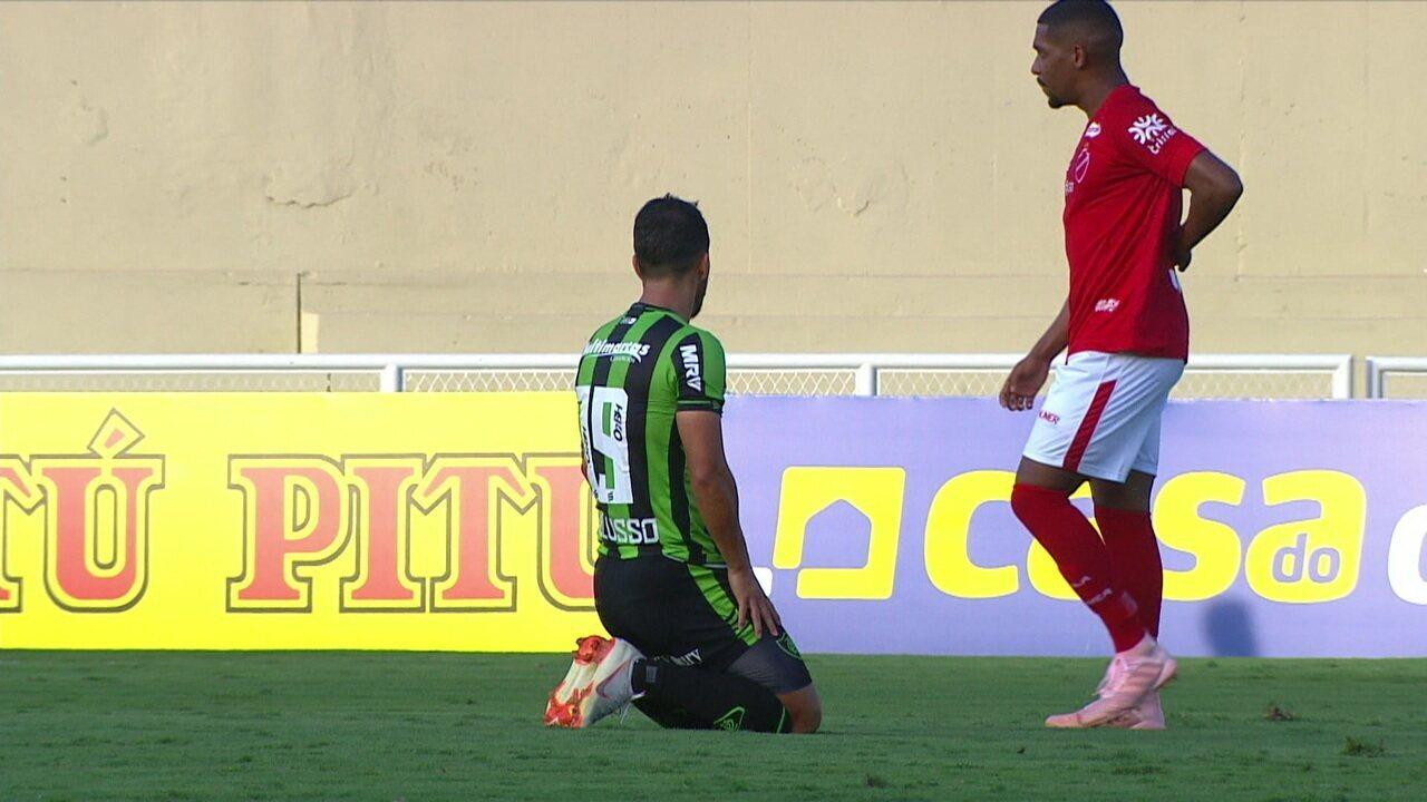 Melhores momentos: Vila Nova 1 x 1 América-MG pela 10ª rodada da série B do Brasileirão