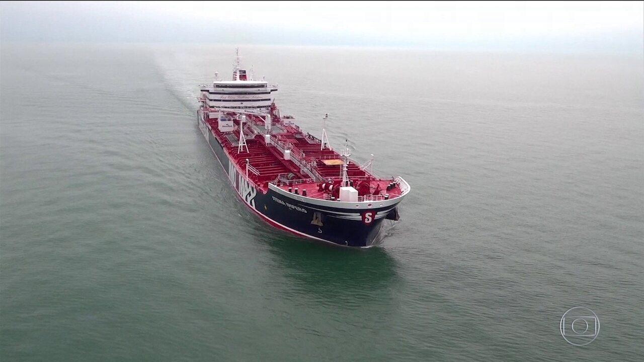 Captura de petroleiro britânico causa tensão diplomática entre Irã e Reino Unido