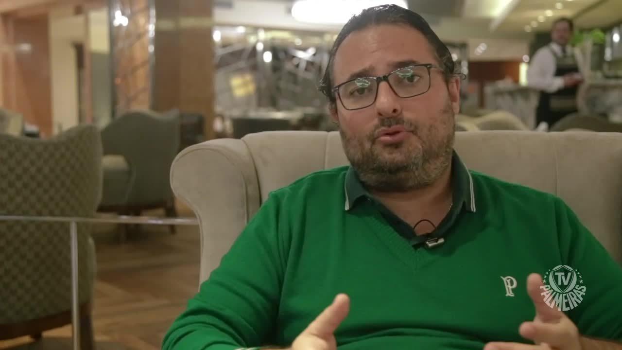Alexandre Mattos, do Palmeiras, relata pânico em voo do Palmeiras na Argentina