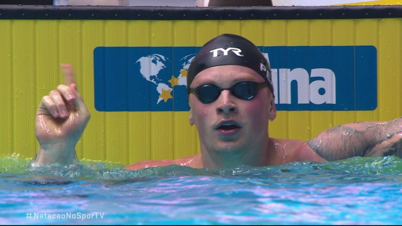 Adam Peaty vence os 100m peito masculino no Mundial de Esportes Aquáticos