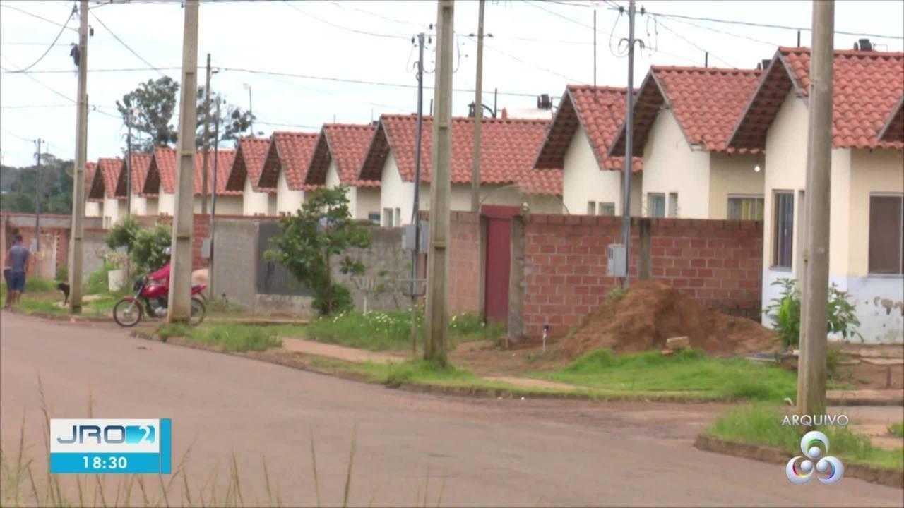 Conjunto habitacional é fiscalizado em Vilhena