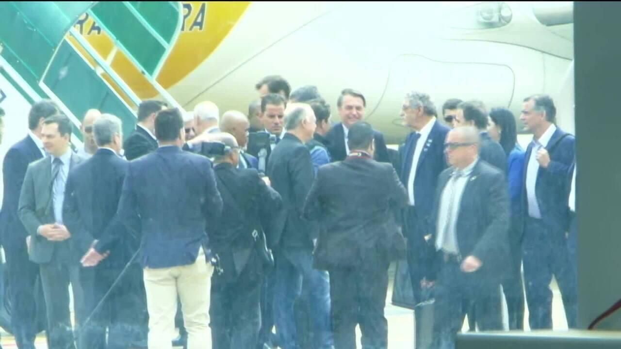 Presidente Bolsonaro participa de evento na Bahia