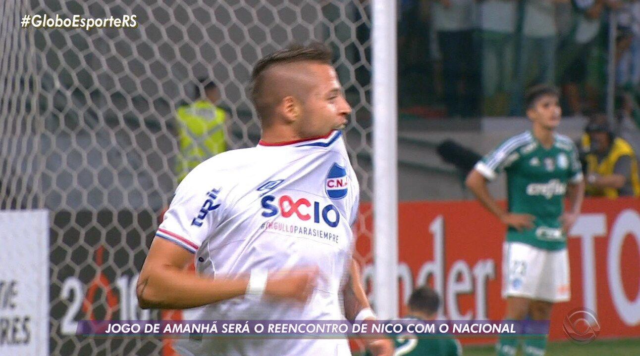 Nico López reencontra o Nacional no Uruguai