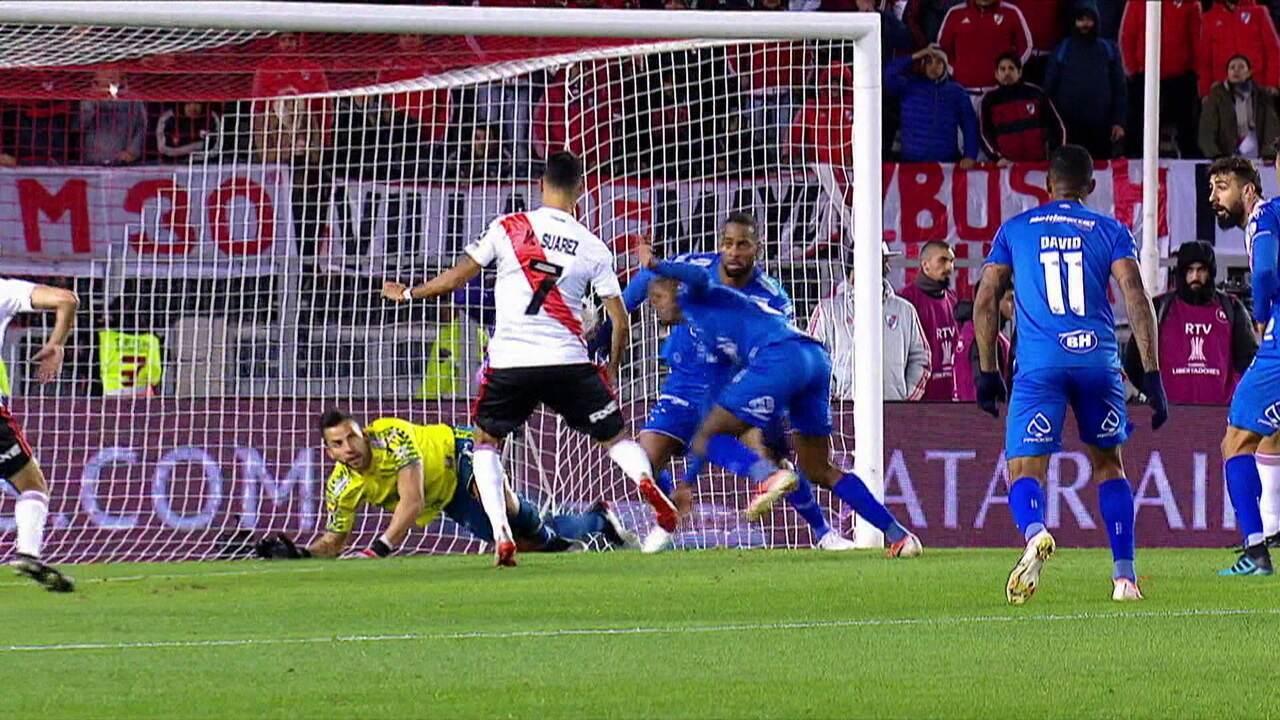 Melhores momentos: River Plate 0 x 0 Cruzeiro pelas oitavas de final da Taça Libertadores da América