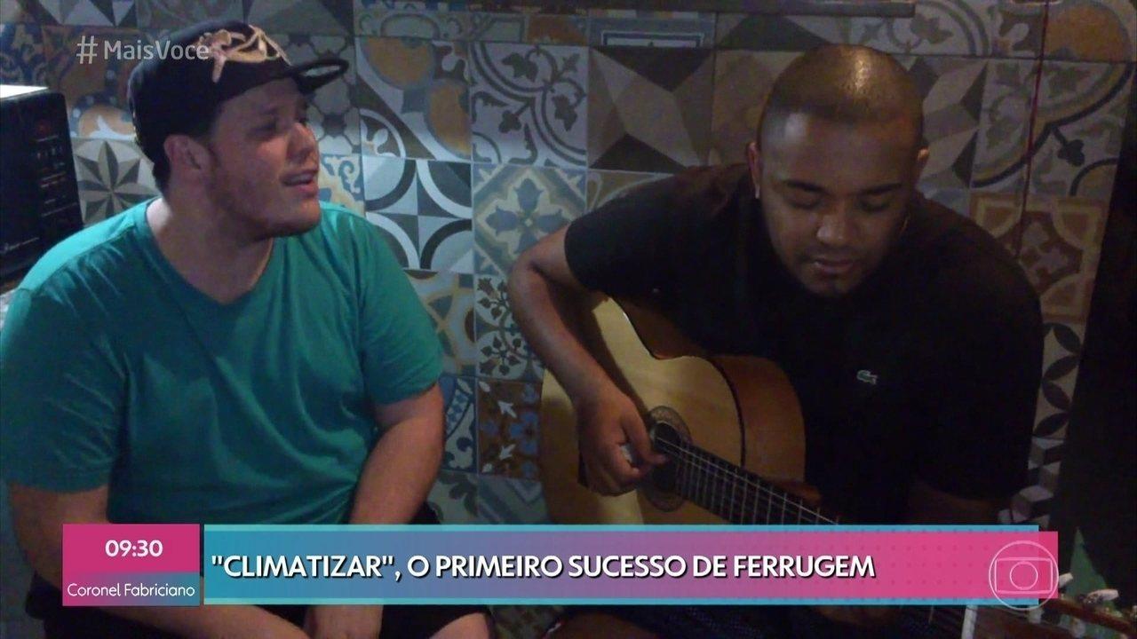 Ferrugem lembra primeiro sucesso na internet 'Climatizar'