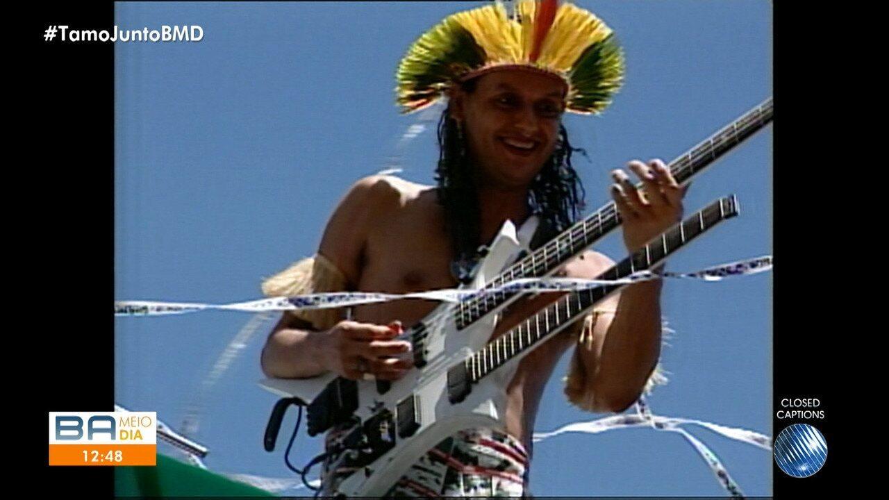 Morre Cacick Jonne, ex-guitarrista do Chiclete com Banana 7795347