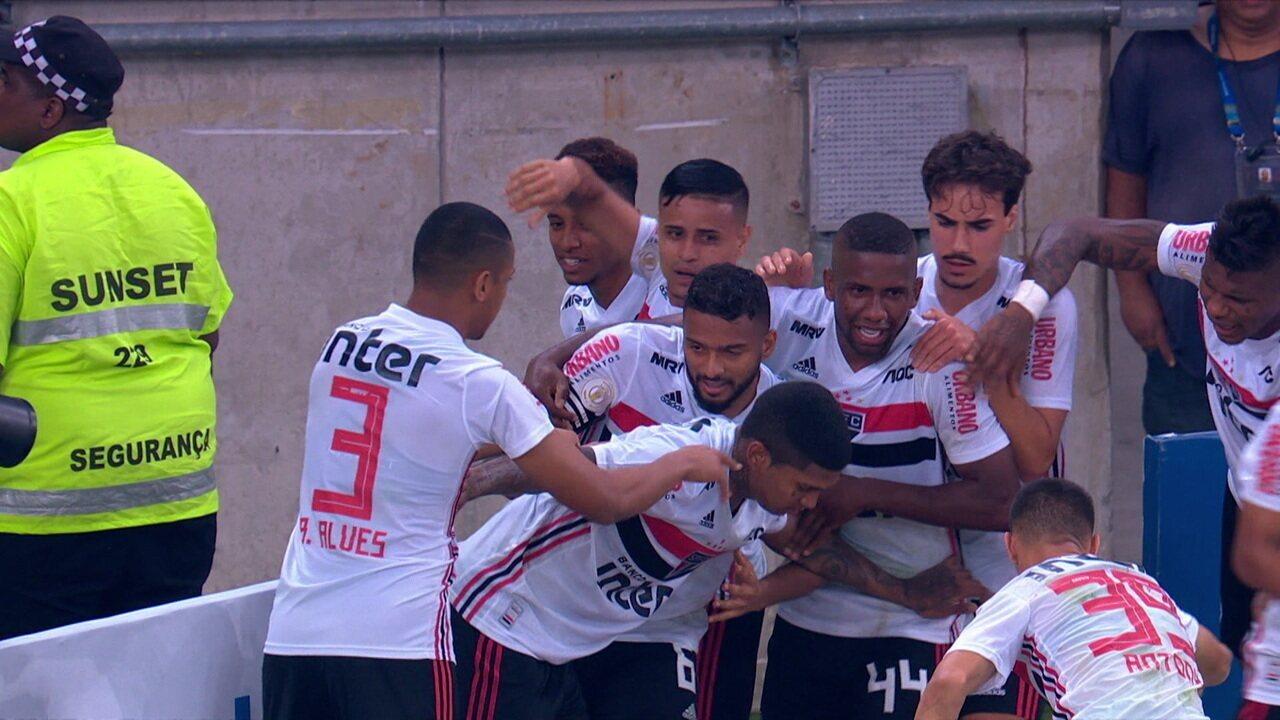 Os gols de Fluminense 1 x 2 São Paulo pela 12ª rodada do Brasileirão 2019