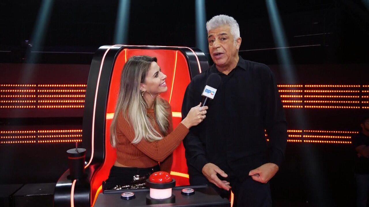 Lulu Santos fala sobre a estreia do 'The Voice Brasil'