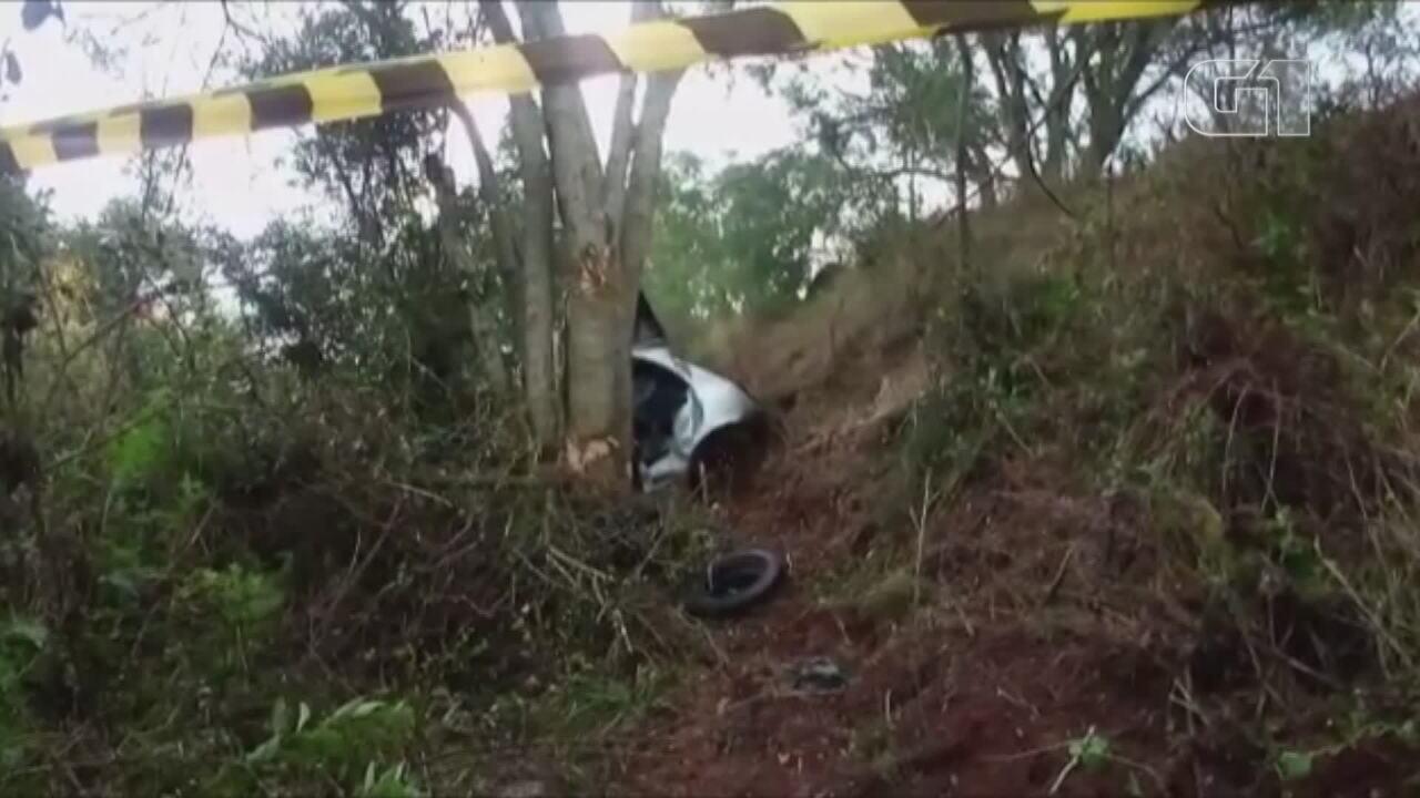 Homem morre em acidente de trânsito na RSC-377, na Fronteira Oeste do RS