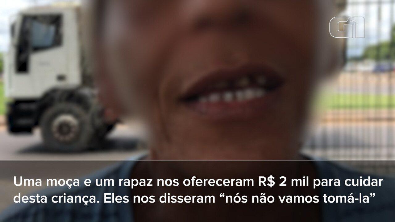 Avó venezuelana denuncia assédio para vender neta de 2 anos