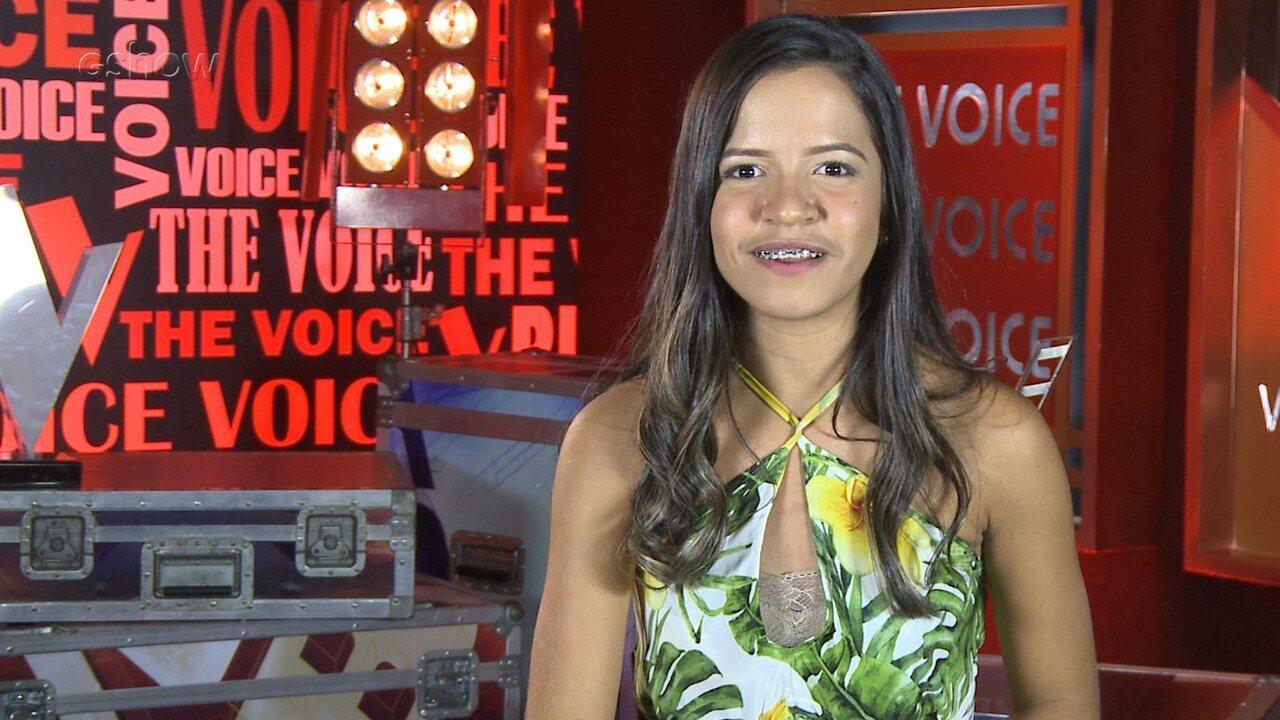 Conheça a participante Heloísa Ribeiro, do Time Teló