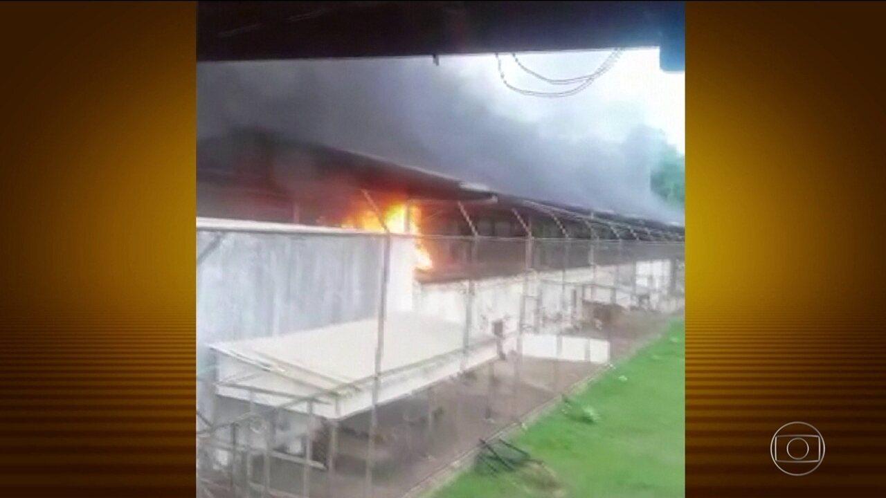Rebelião deixa 57 mortos no presídio de Altamira, sudoeste do Pará