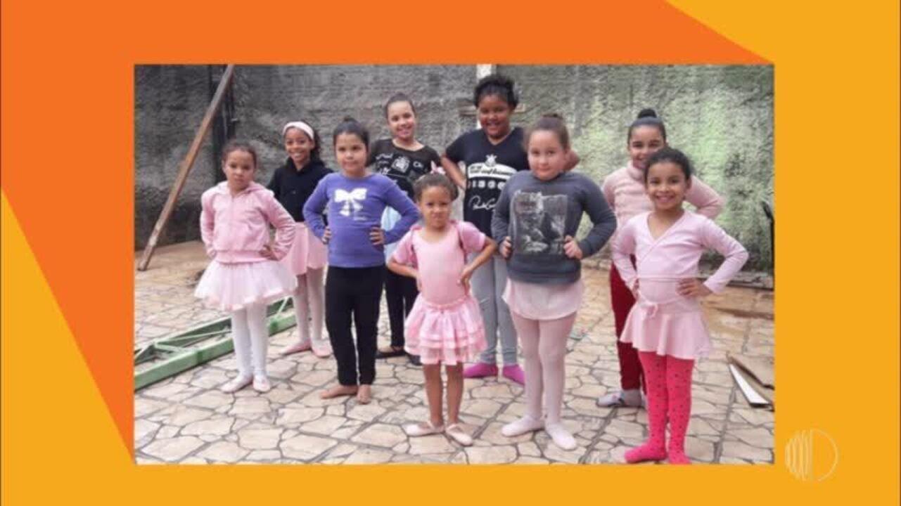 Projeto 'Esperança e Destino' leva arte e cultura para as crianças do Jardim Maitê