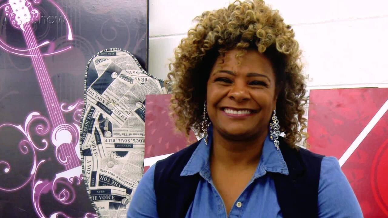 Conheca a participante Rosana Brown do time Teló