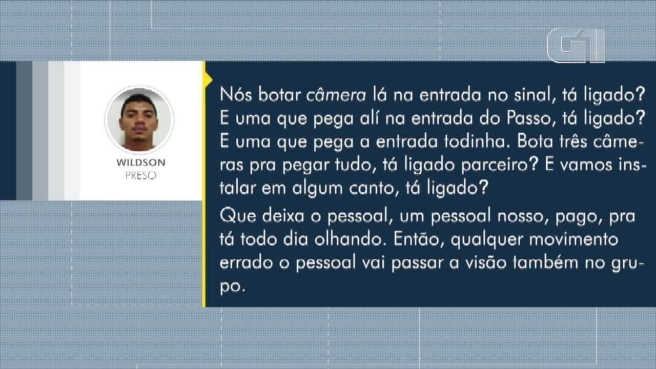 Áudios mostram ordens de chefe de facção no RN por telefone, mesmo preso no Rio de Janeiro