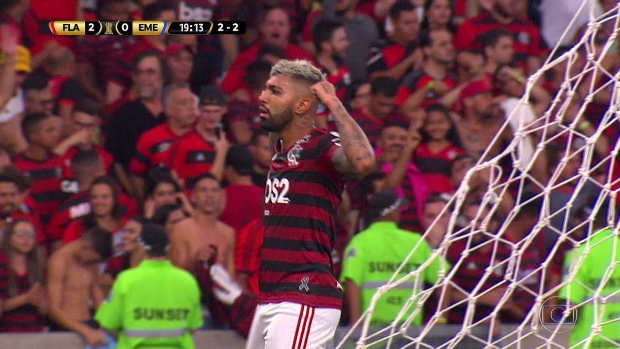 Melhores Momentos De Flamengo 2 4 X 2 0 Emelec Pela Taça Libertadores