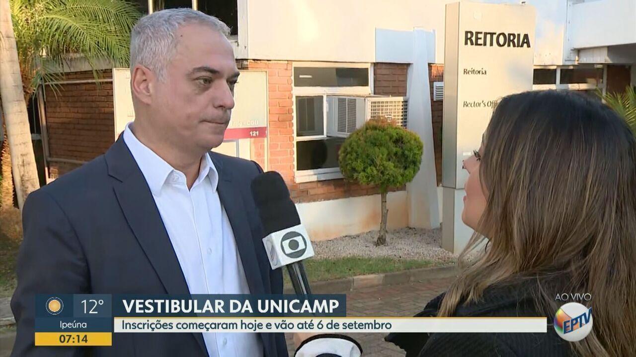 Aberta as inscrições para o vestibular da Unicamp