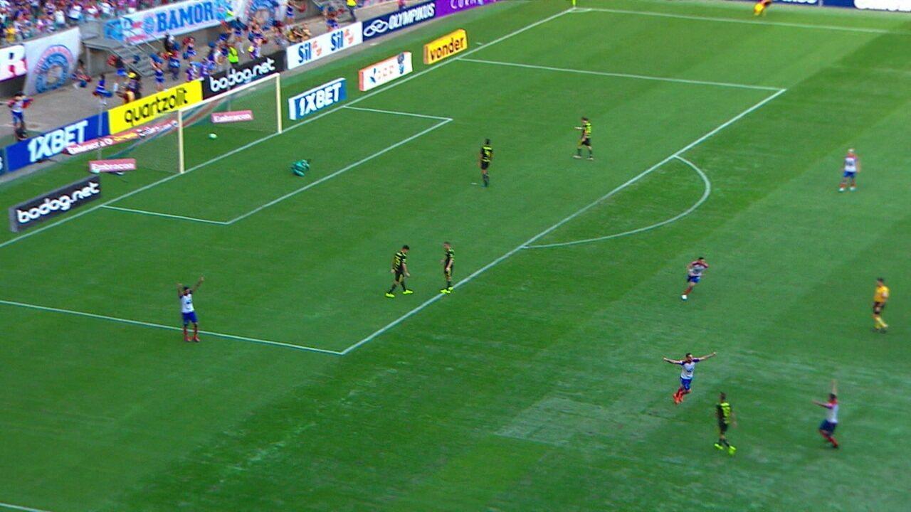 Melhores momentos de Bahia 3 x 0 Flamengo pela 13ªrodada do Campeonato Brasileiro