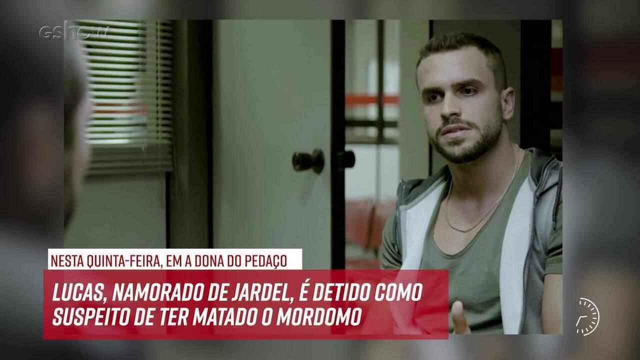 Resumo do dia - 08/08 – Lucas, namorado de Jardel, é detido como suspeito