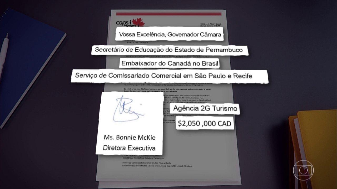Associação de escolas do Canadá diz que não vai mais receber alunos do Ganhe o Mundo