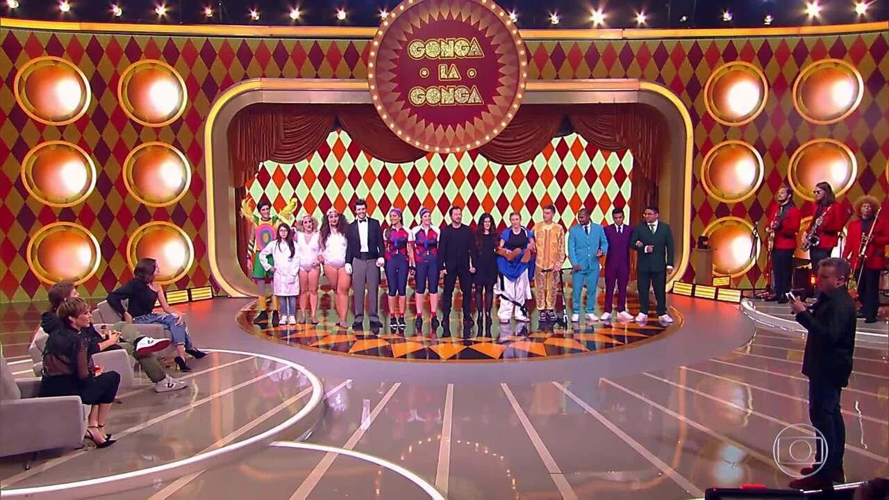 Participantes disputam prêmio do Gonga La Gonga