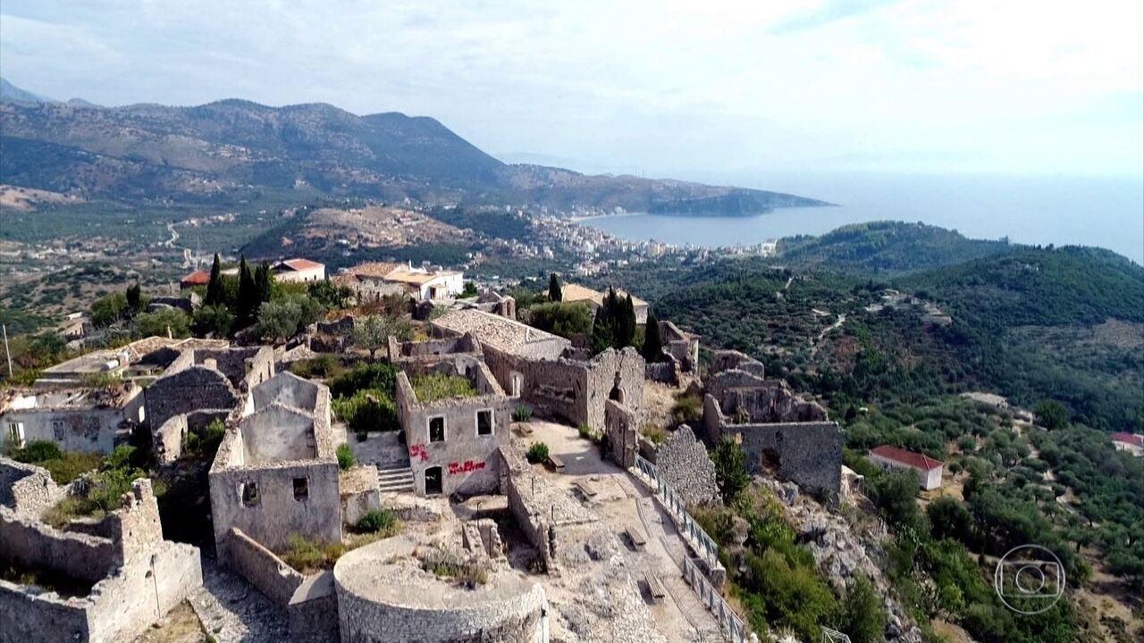 Glória Maria revela as incríveis paisagens da Riviera Albanesa