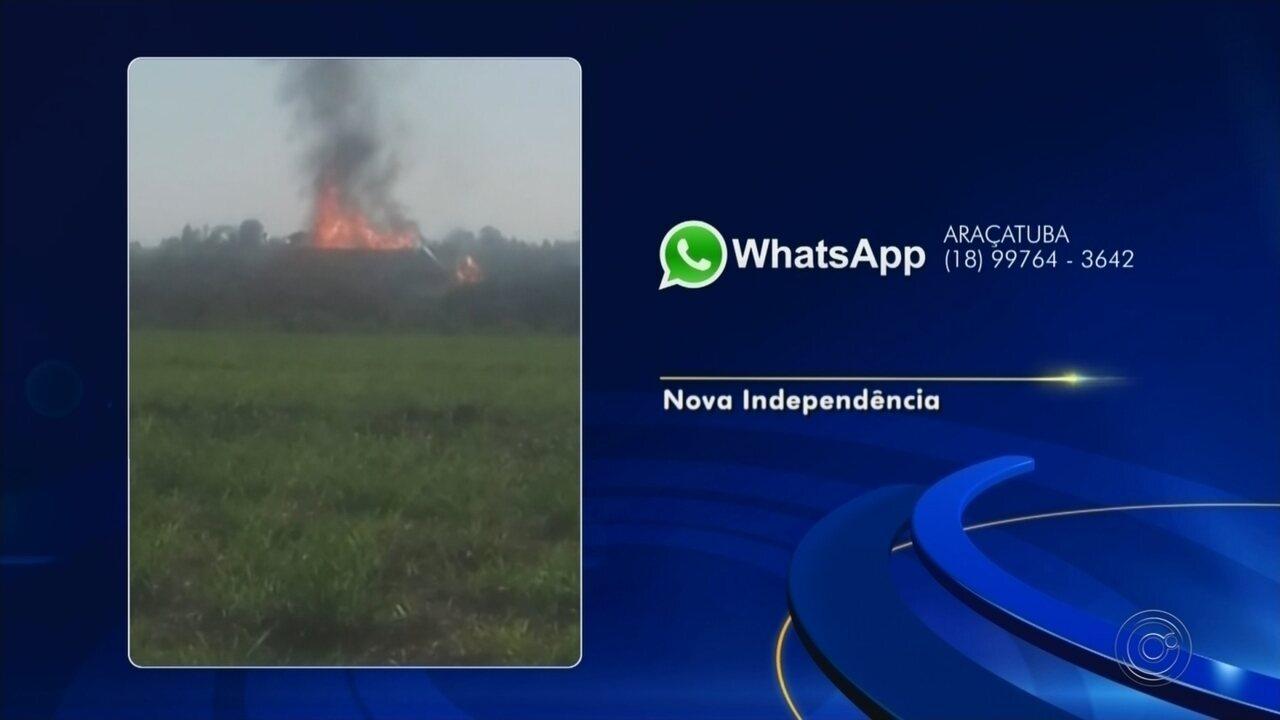 Tanque de armazenamento de etanol explode em Nova Independência