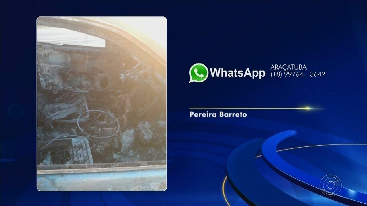 Pai e filha de 14 anos morrem em acidente entre dois carros em Pereira Barreto