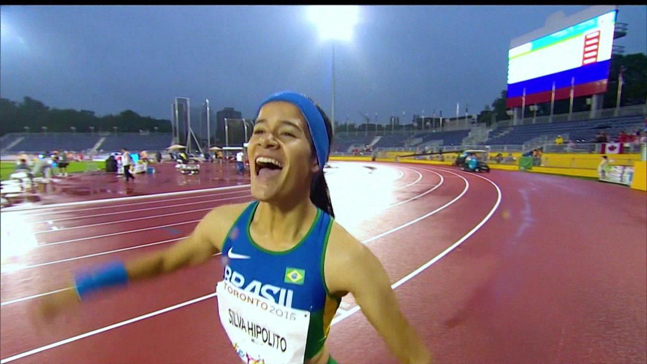 Verônica Hipólito vence obstáculos e garante vaga nos Jogos Parapan-Americanos de Lima 2019