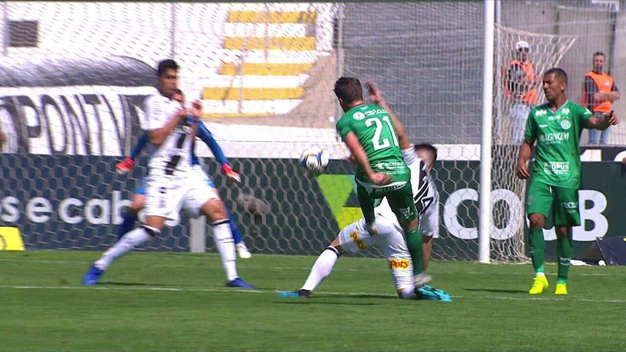 Melhores momentos de Ponte Preta 1 x 0 Guarani pela 15ª rodada da Série B