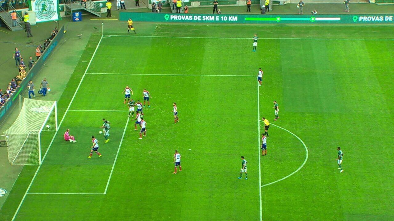 Melhores momentos de Palmeiras 2x2 Bahia pela 14ª rodada do Campeonato Brasileiro