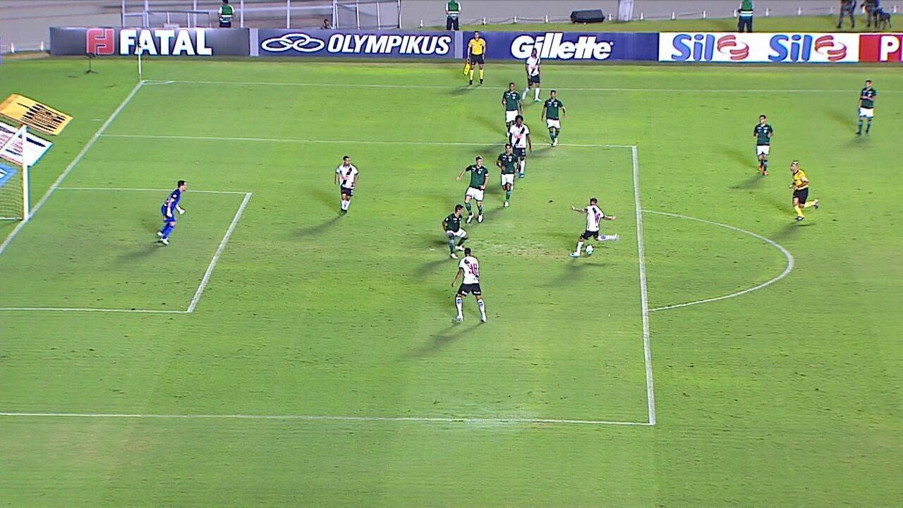 Melhores momentos: Goiás 0 x 1 Vasco pela 14ª rodada do Brasileirão 2019