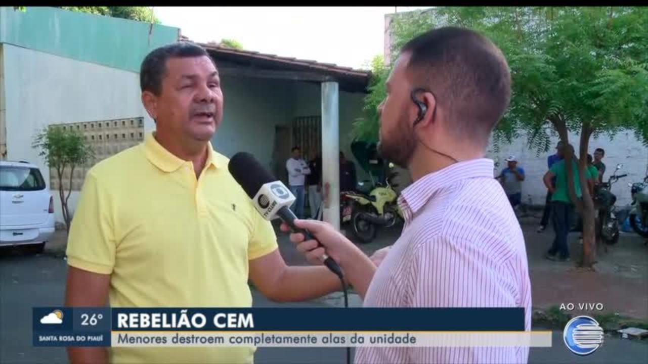 Secretaria de Assistência Social (Sasc) informa motivos da rebelião no CEM