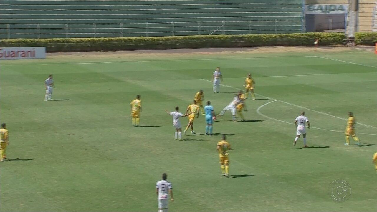 Mirassol e Votuporanguense empatam sem gols pela Copa Paulista