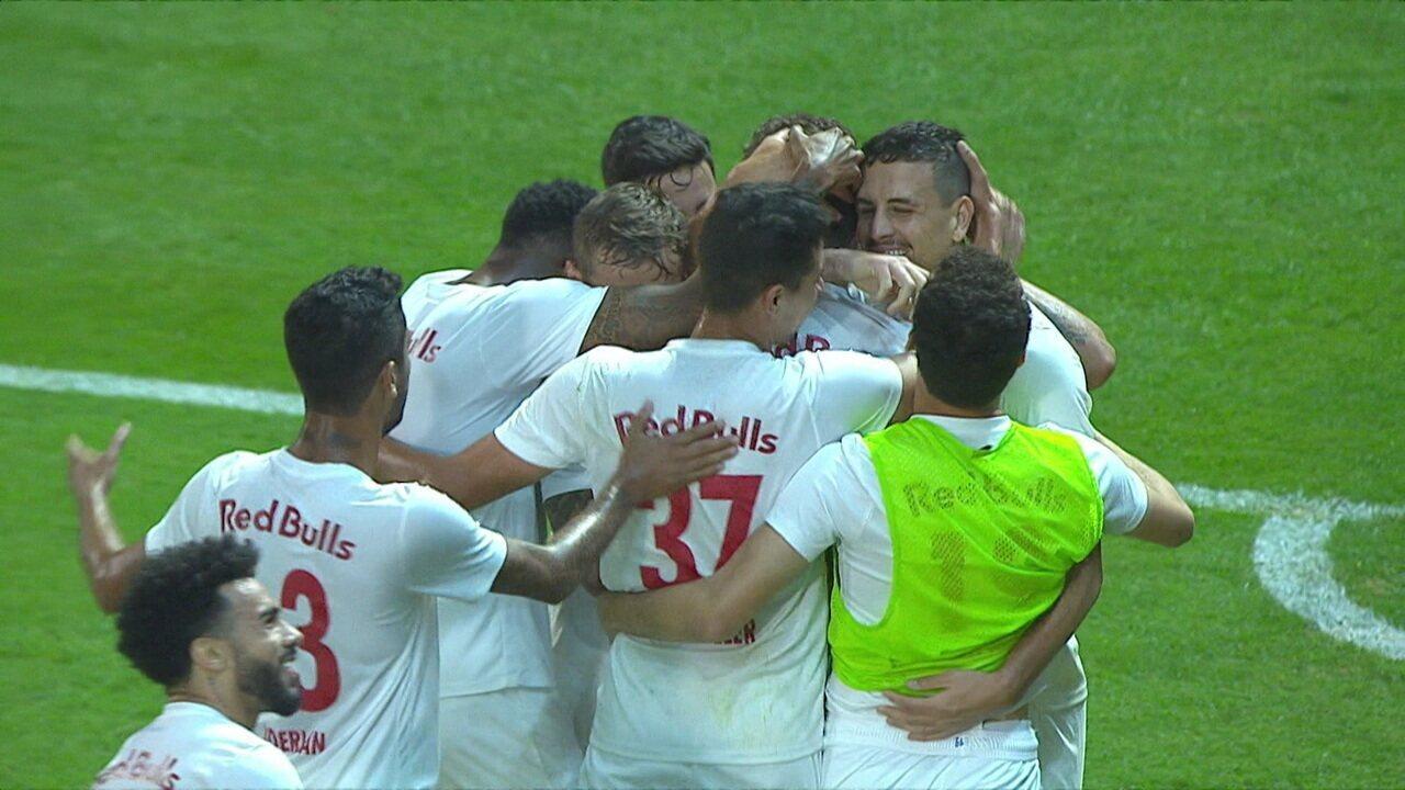 Os gols de Bragantino 4 x 0 Operário-PR pela 16ª rodada do Brasileiro Série B