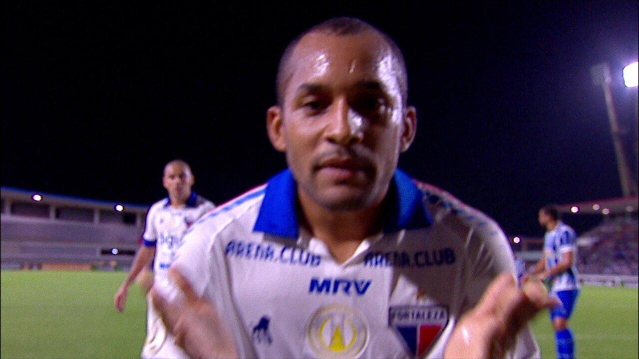 Os gols de CSA 0 x 2 Fortaleza, pela 14ª rodada do Brasileirão 2019