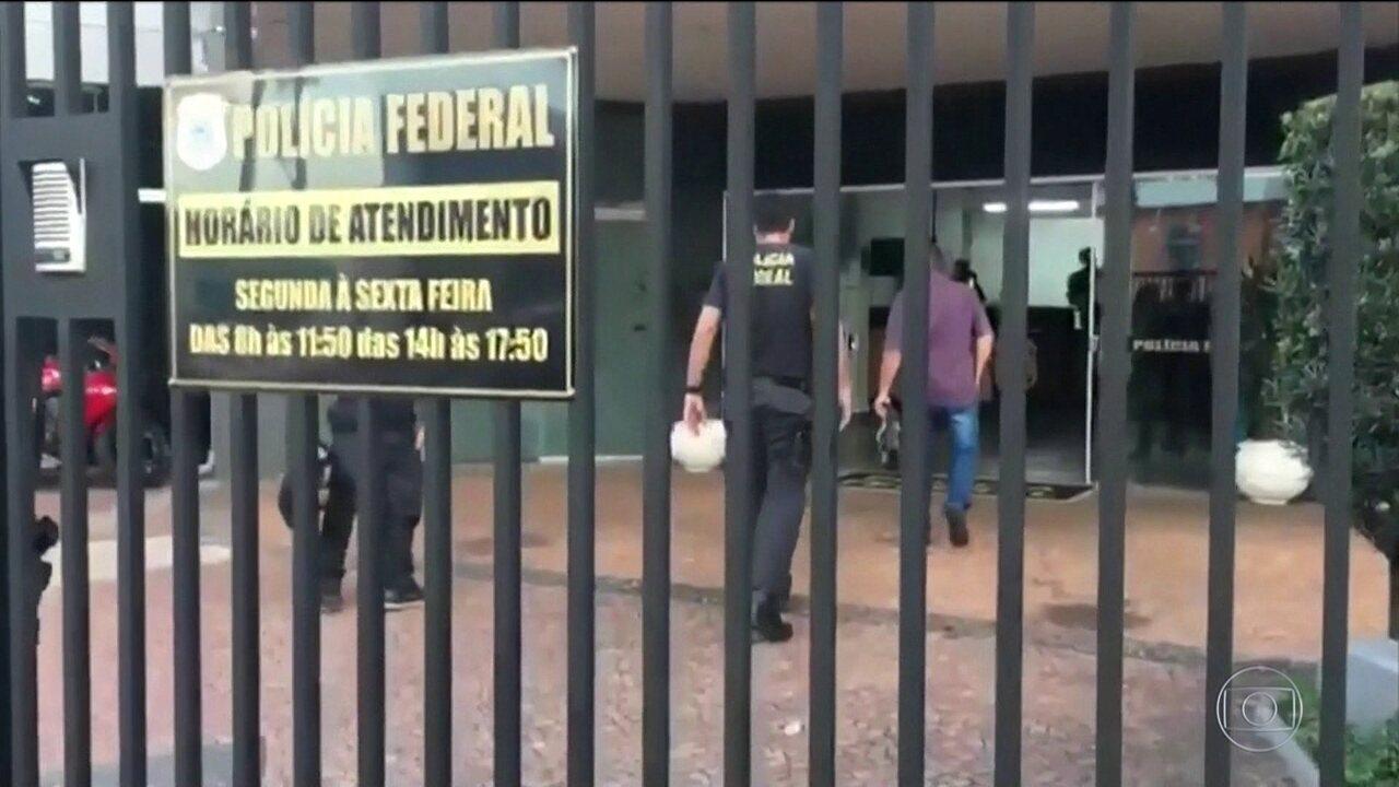 PF faz operação contra desvios em Prefeitura de Araçatuba (SP)