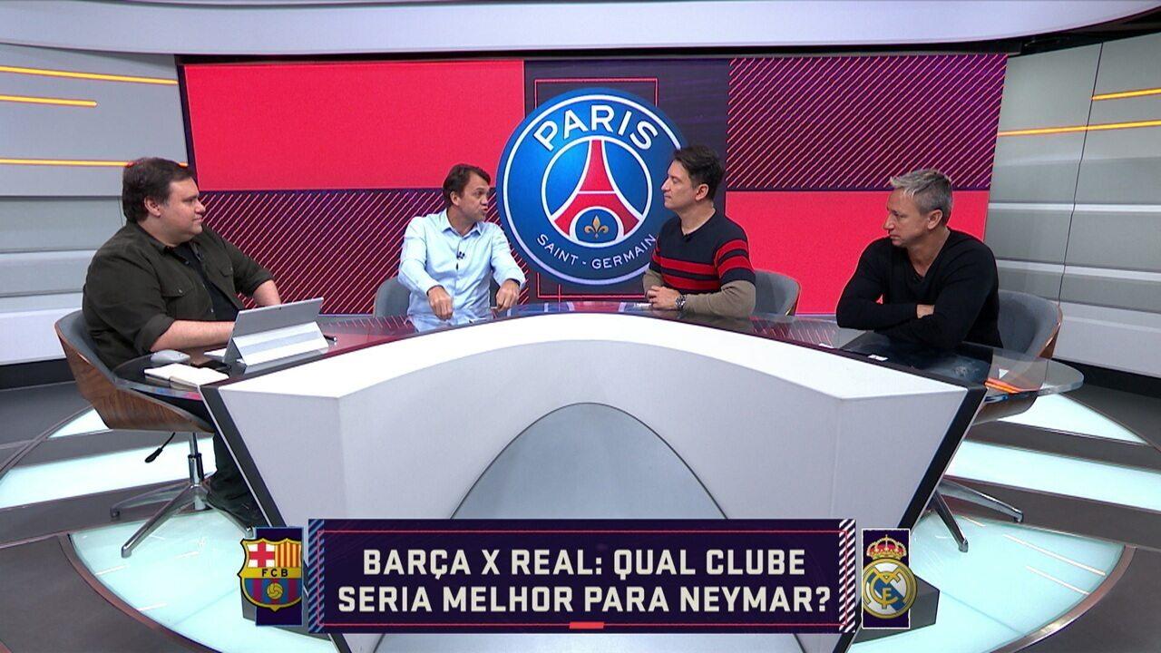 Comentaristas falam sobre o futuro de Neymar