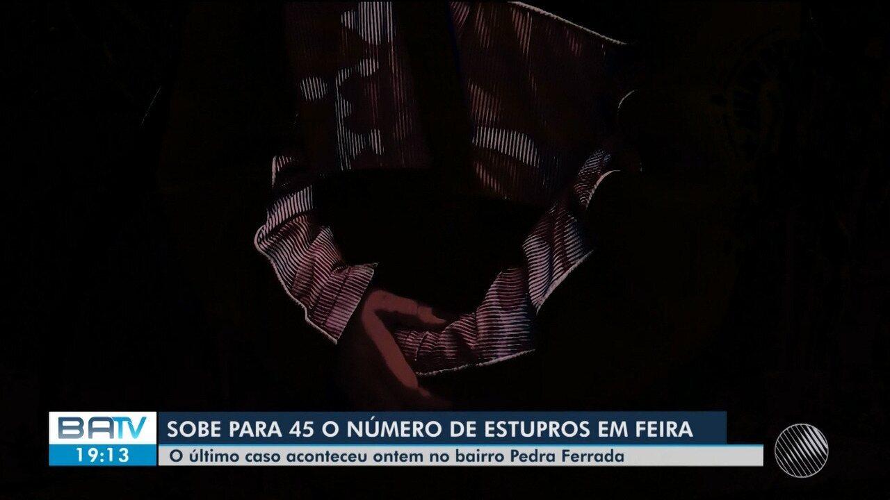 Três mulheres foram estupradas em intervalo de 8 meses em dois bairros de Feira de Santana