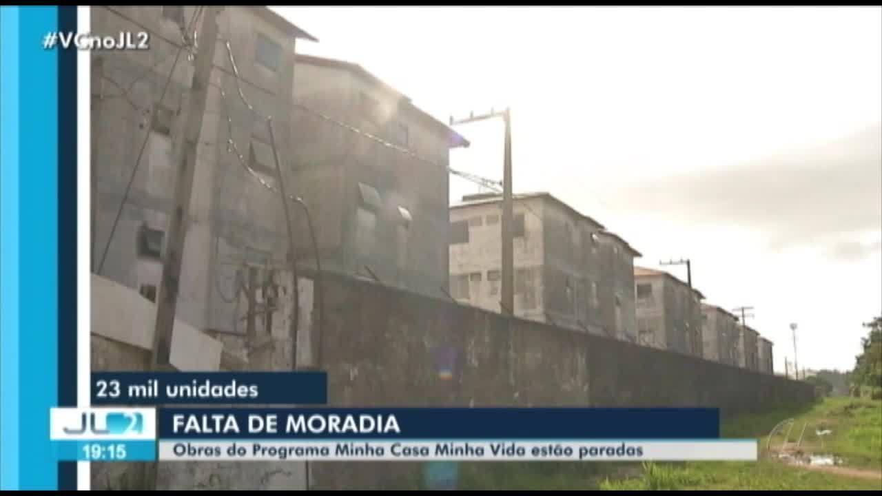 19 obras do Programa 'Minha Casa Minha Vida' estão paradas no Pará