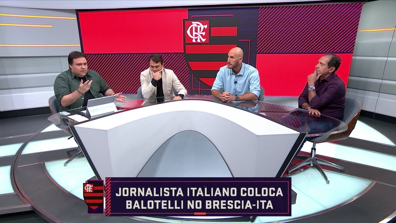 Comentaristas falam sobre Balotelli no Flamengo